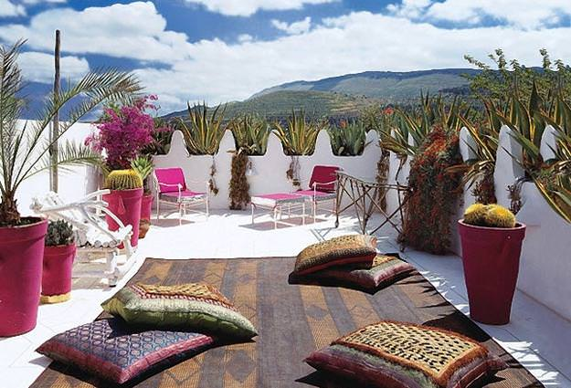 18+ Moroccan Patio Design, Decorating Ideas | Design Trends