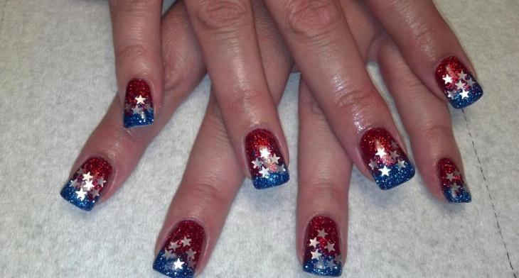 20 Fourth Of July Nail Art Designs Ideas Design Trends Premium