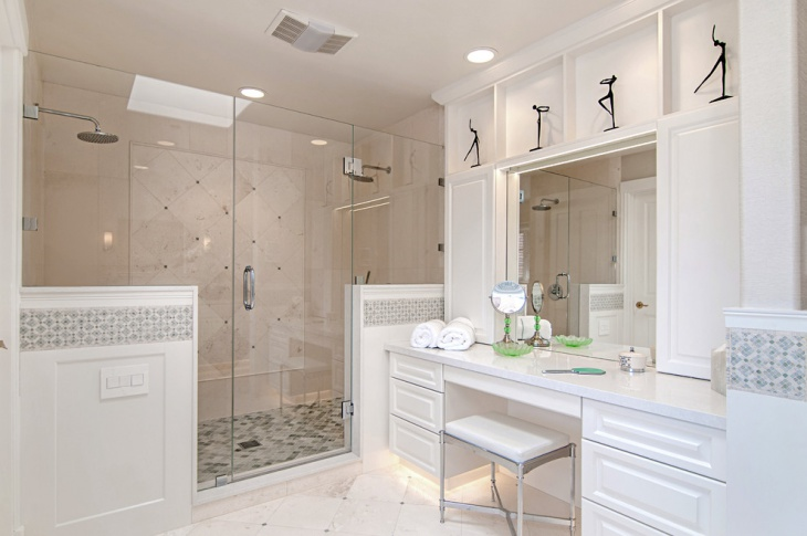 Simple Master Bathroom Design