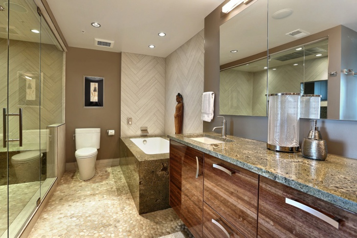 Pent House Master Bathroom Remodel