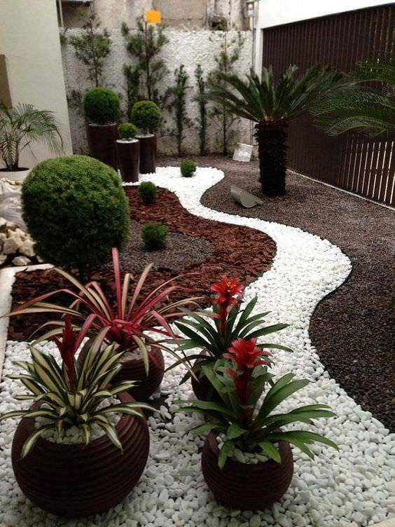 17Garden Design Ideas With Pebbles