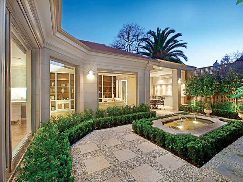 30 pebble garden designs decorating ideas design for Front garden designs australia