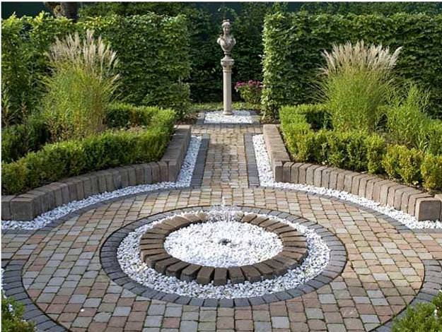 26Garden-paths-patio-designs-pebbles