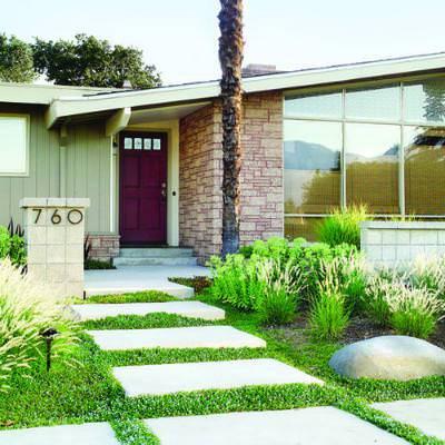 30 pebble garden designs decorating ideas design for Low water garden design