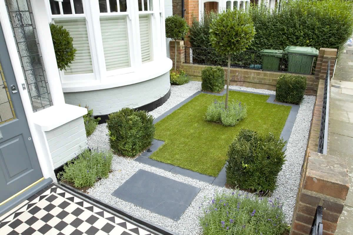 30 pebble garden designs decorating ideas design for Landscape design for small garden