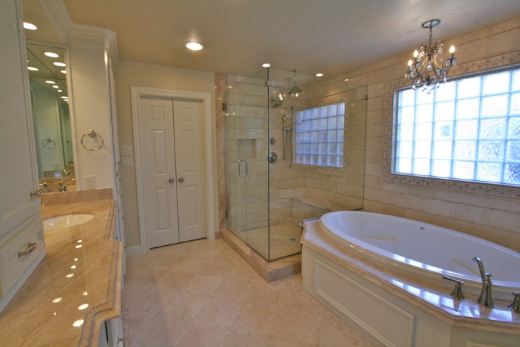 Remodeled master bathrooms the image for Master bath renovation