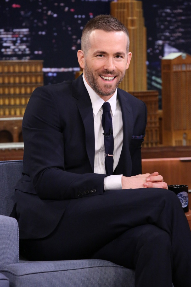 Ryan Reynolds Comb Over Fade