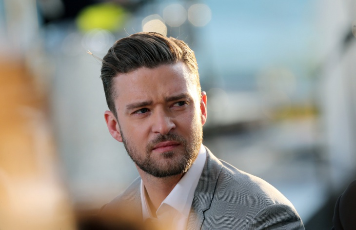 Justin Timberlake Comb Over Fade Hair