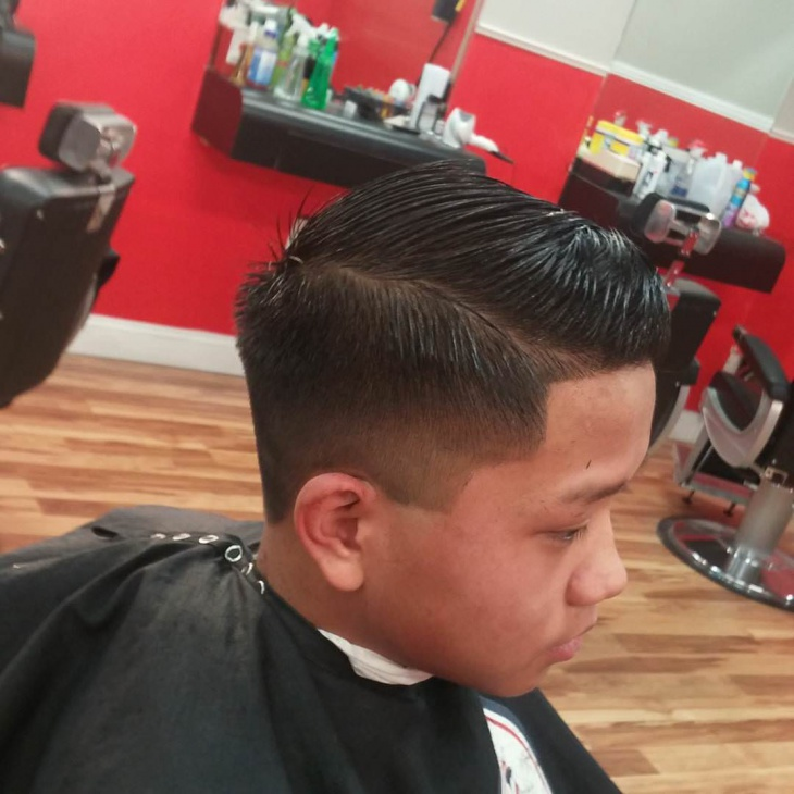 short comb over fade haircut3