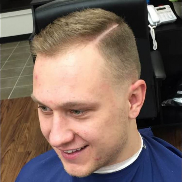 short comb over fade haircut11