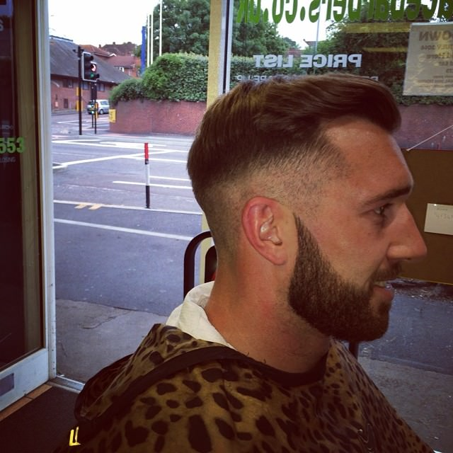 Mid Clean Fade Hairstyle