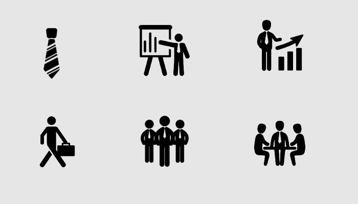 free business icon set1