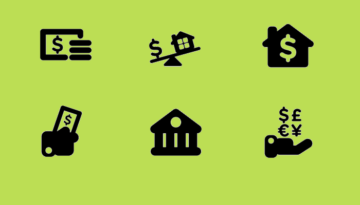 Free Finance Icon Set