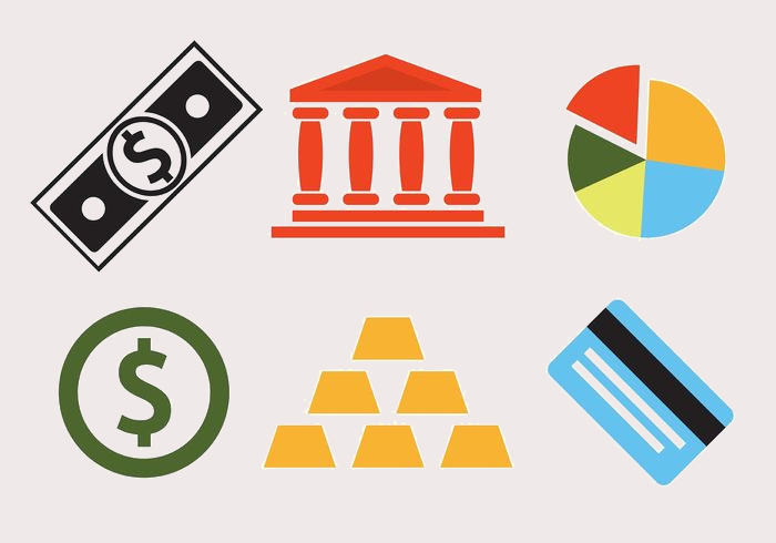 Bank Icons Vector Set
