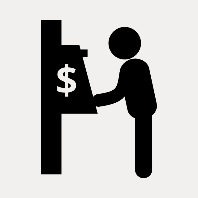 cash machine icon