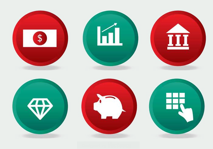 Simple Bank icons