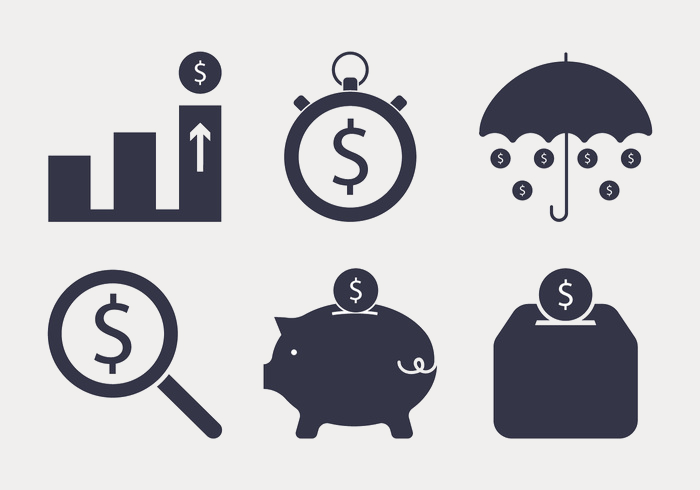Vector Money Icons Set