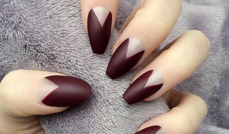 24+ Dark Red Nail Art Designs , Ideas | Design Trends - Premium PSD ...