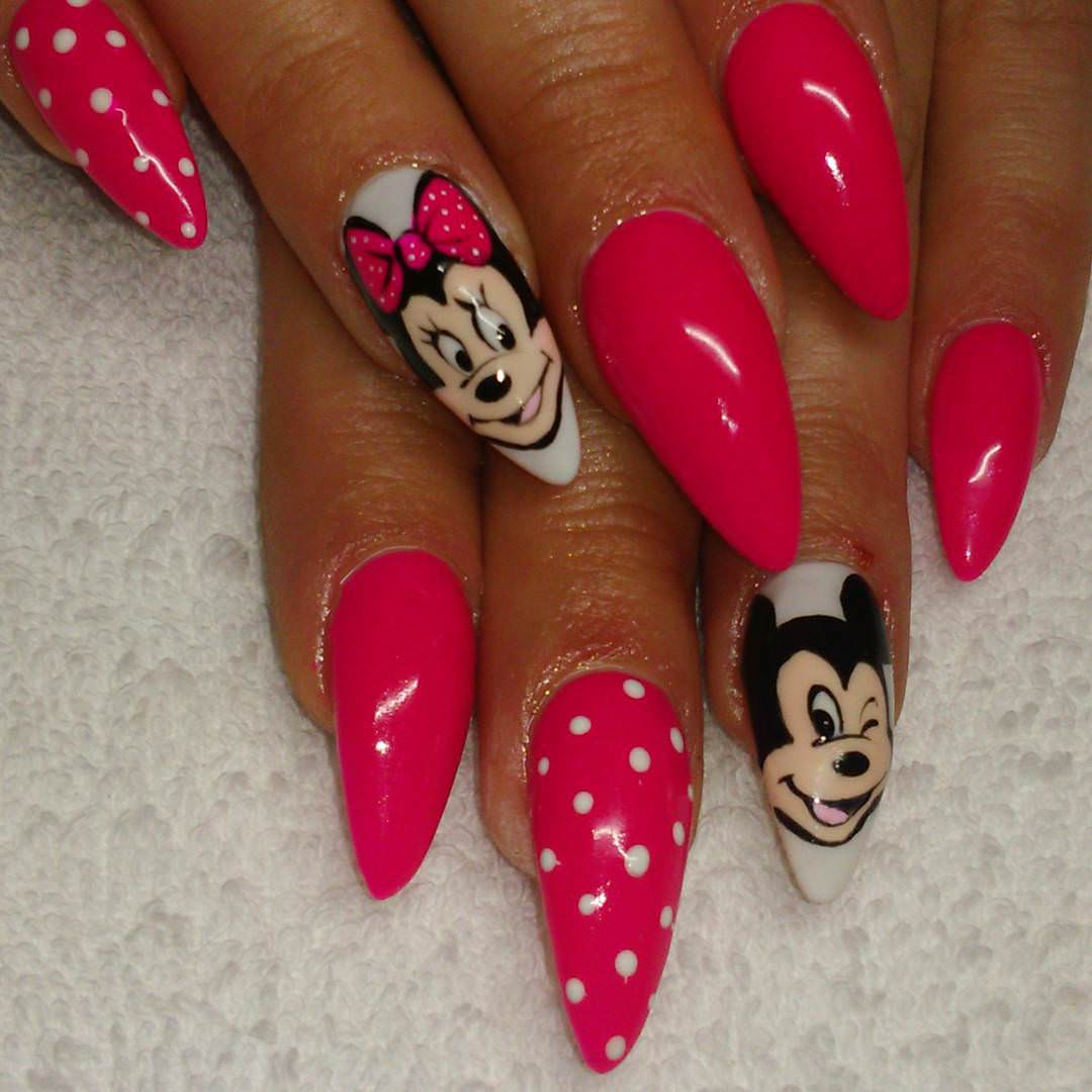 33 Cartoon Nail Art Designs Ideas Design Trends Premium Psd