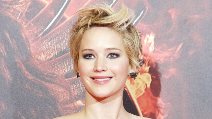 Jennifer Lawrence Long Spiky Pixie Hair