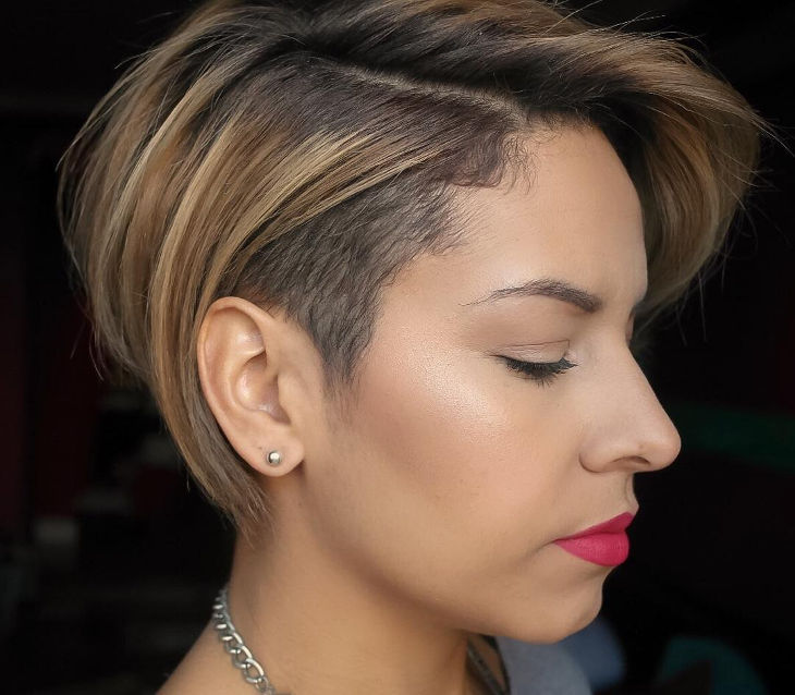 Modern Long Pixie Haircut