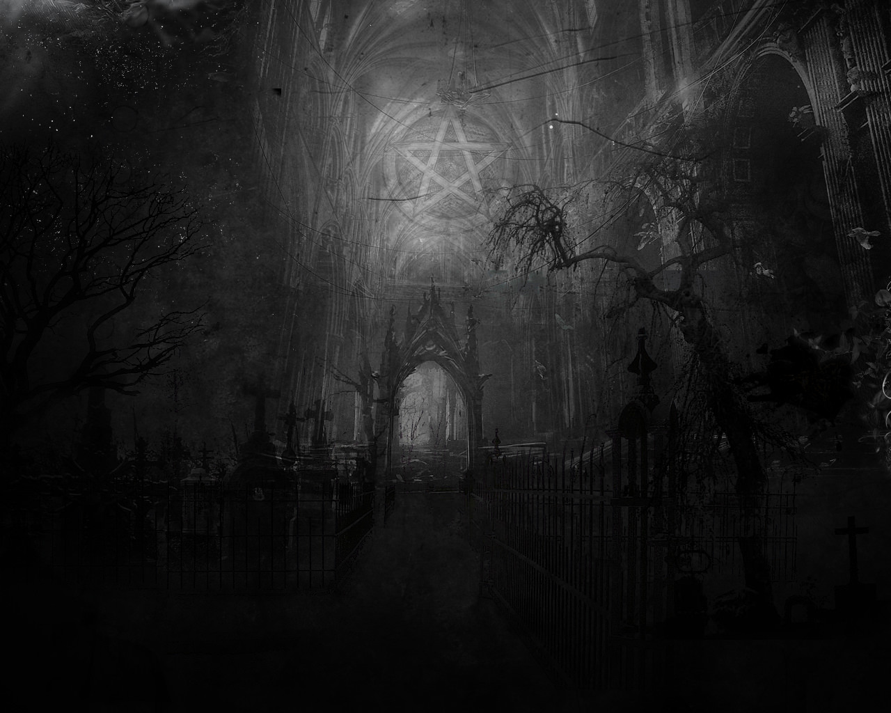 Dark Occult Background