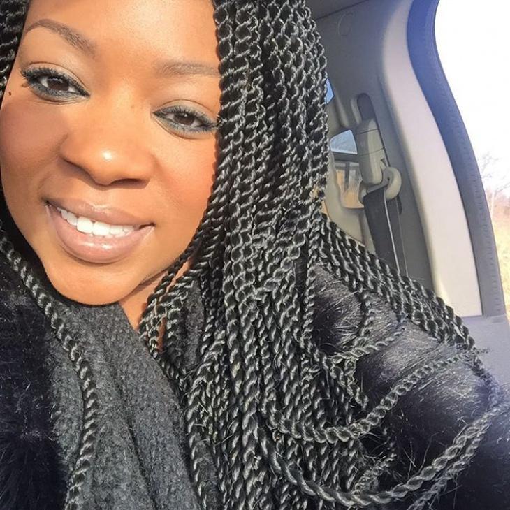 natural twist hair for black women