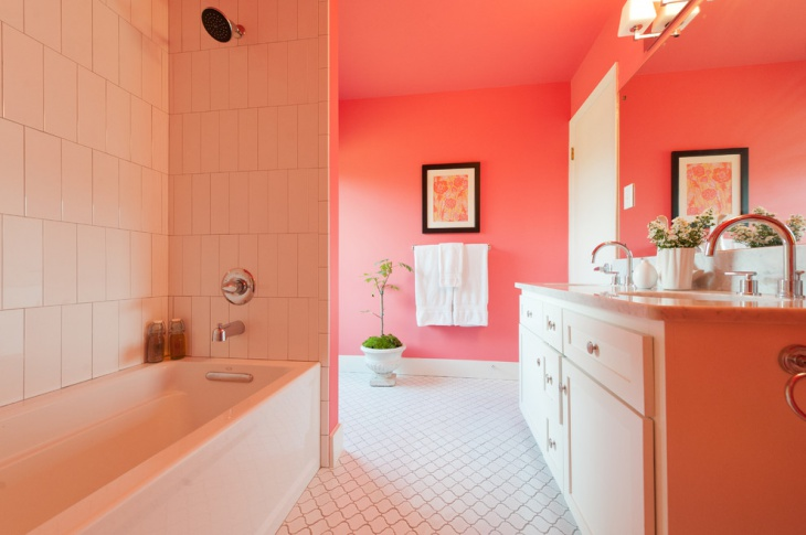 Pretty Pink Bathroom Idea