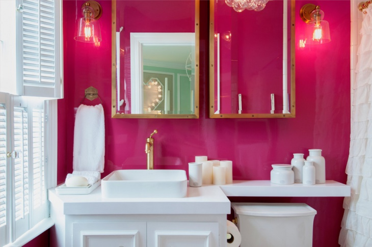 15 pink bathroom designs decorating ideas design - Pink bathtub decorating ideas ...