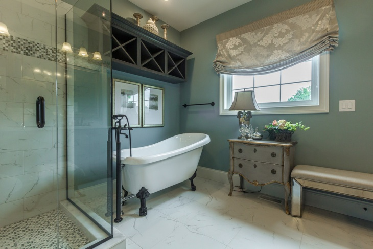 French-design-bathrooms & Bathroom Tub Alcove