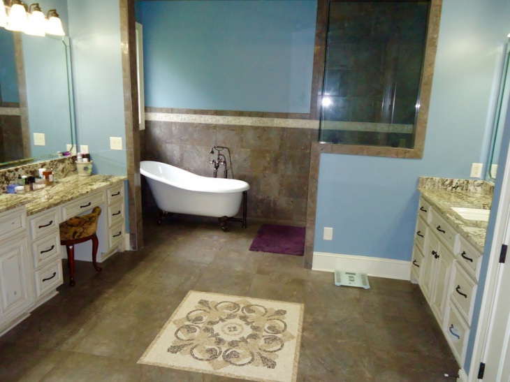 Shabby Chic Master Bathroom Remodel