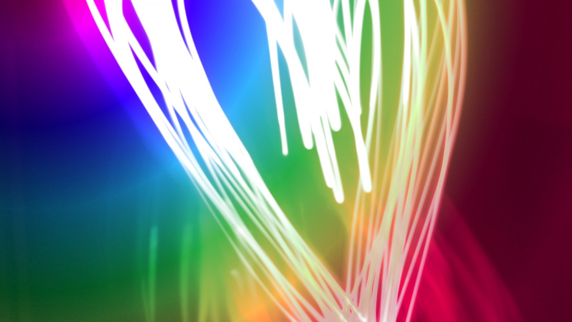 neon glitter background