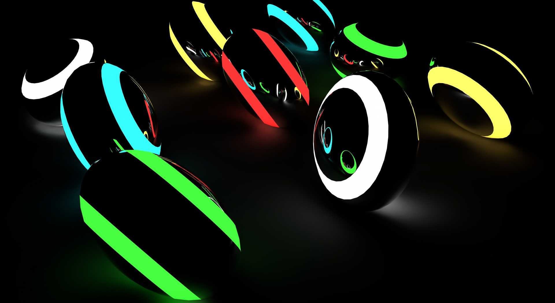 neon hd desktop background