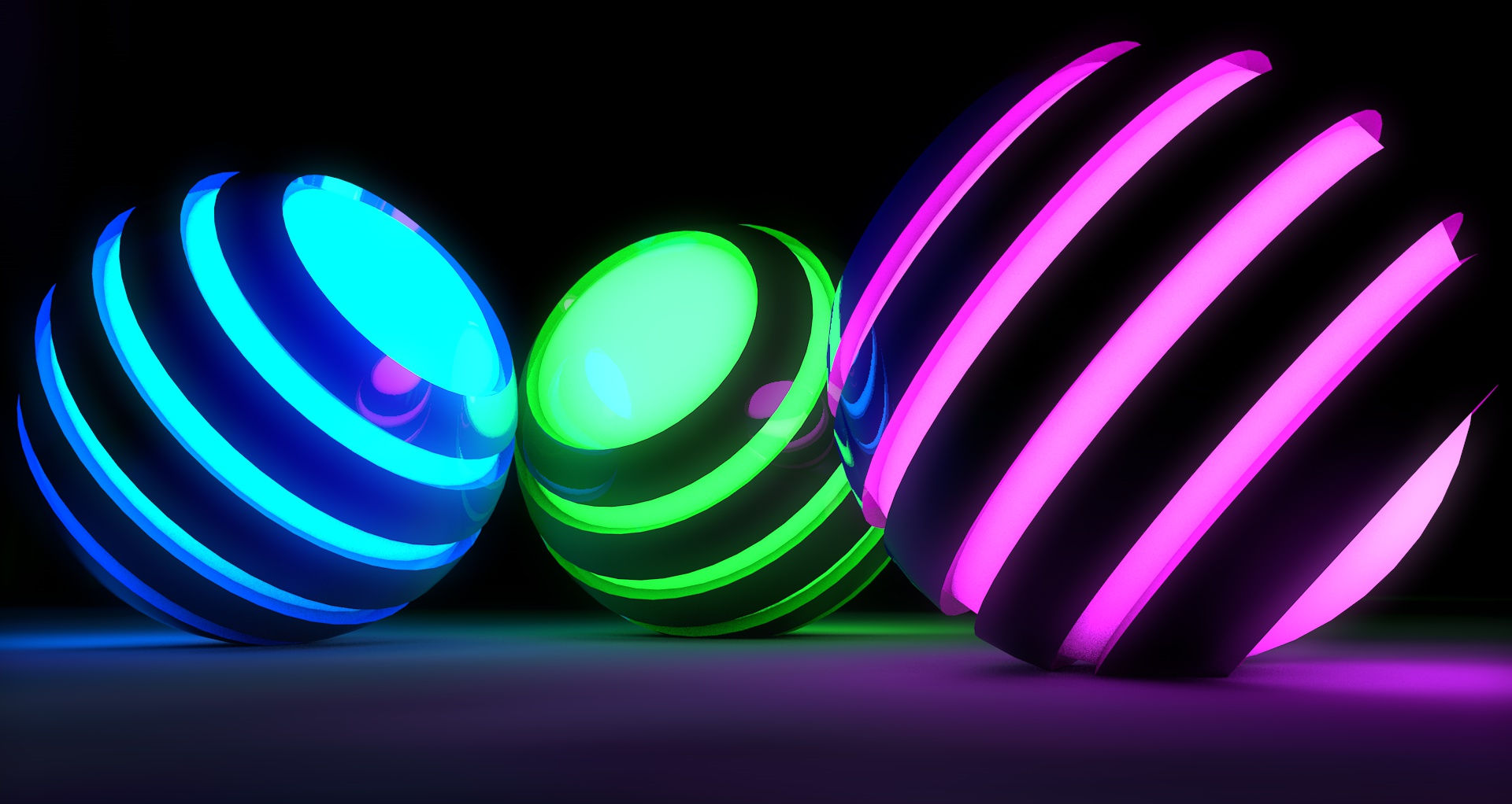 cool neon hd background