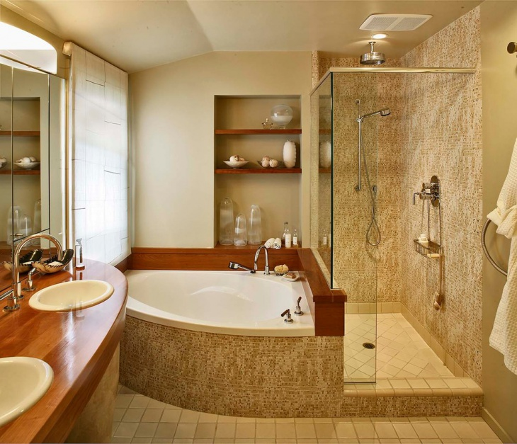 20+ Small Bathroom Tile Designs, Decorating Ideas