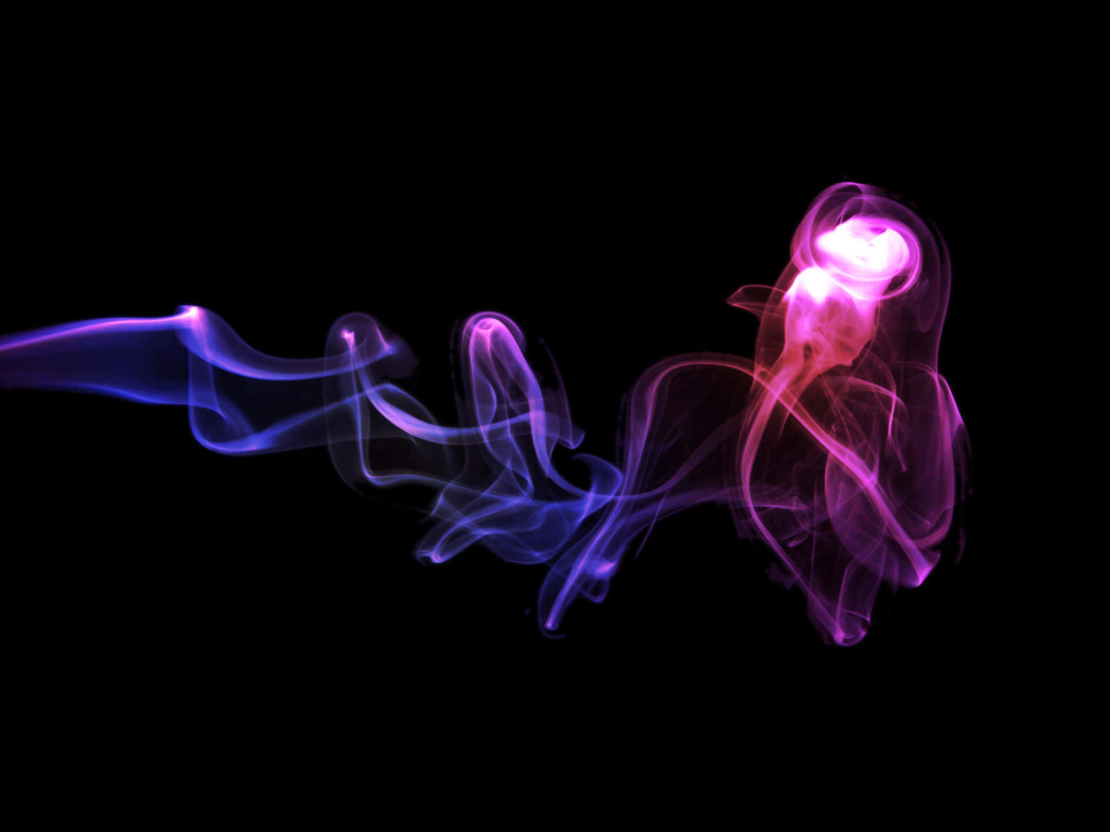 Neon Smoke Background