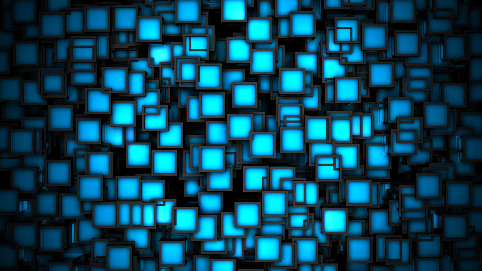 neon squares background