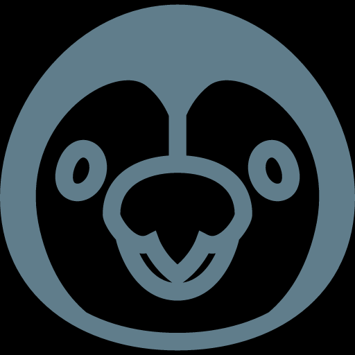 Funny Penguin Face Icon