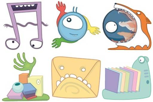 Funny Monster Icons