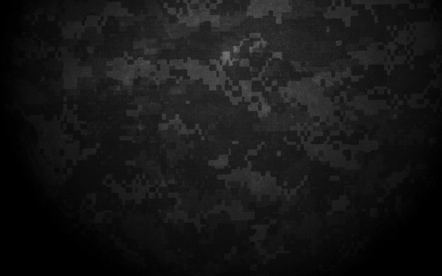 Black Camouflage Background