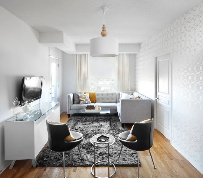 awesome white tiny living room