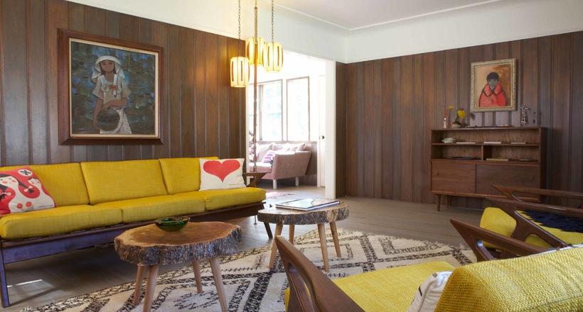 Vintage Living Room Designs