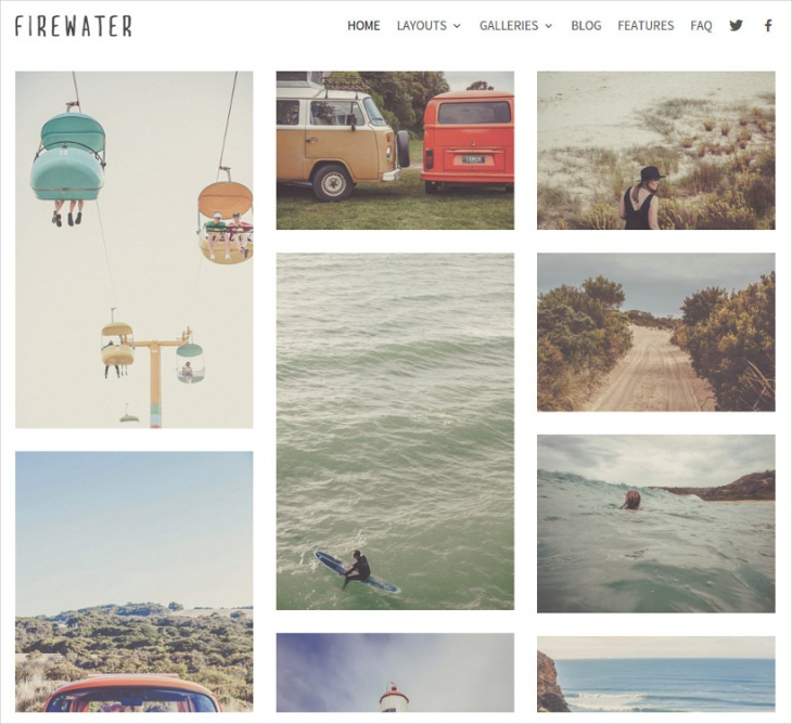 Cool Photography WP Theme