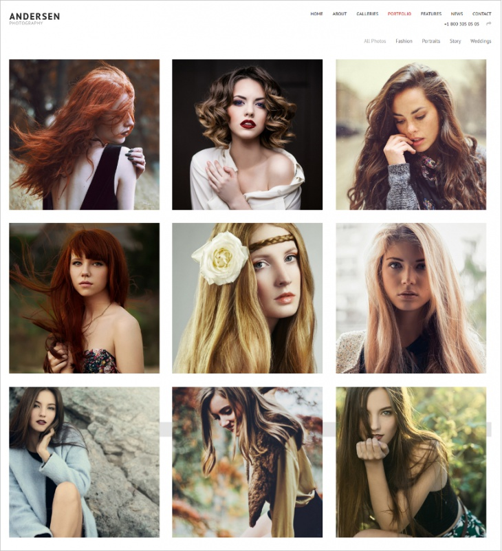 Andersen Photography Theme