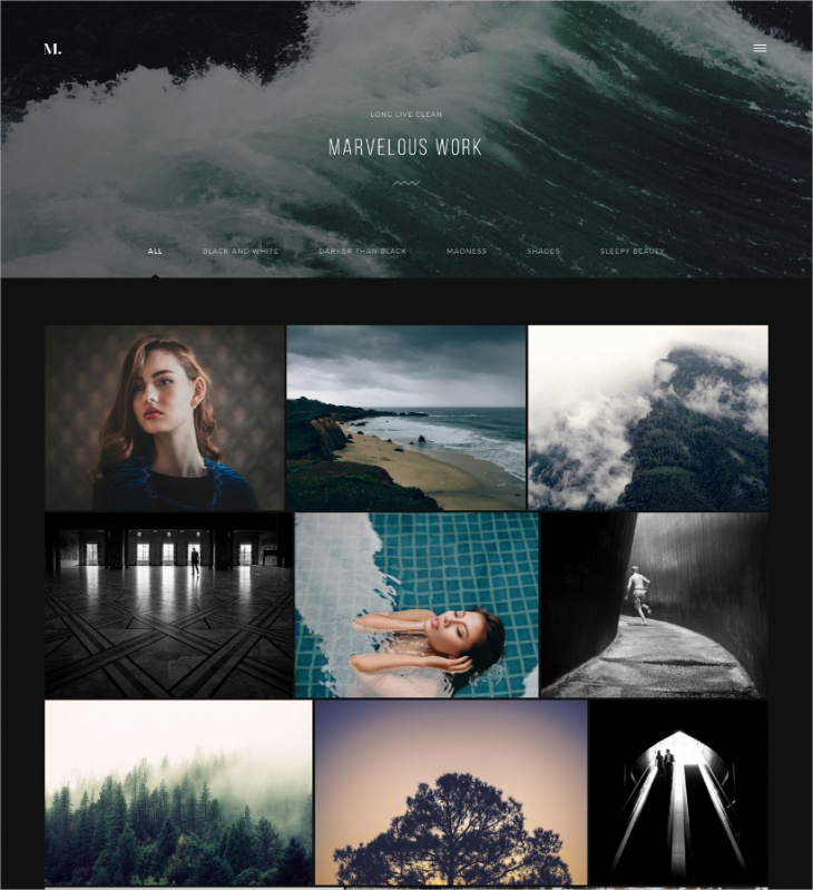 Aesthetic Photography Theme