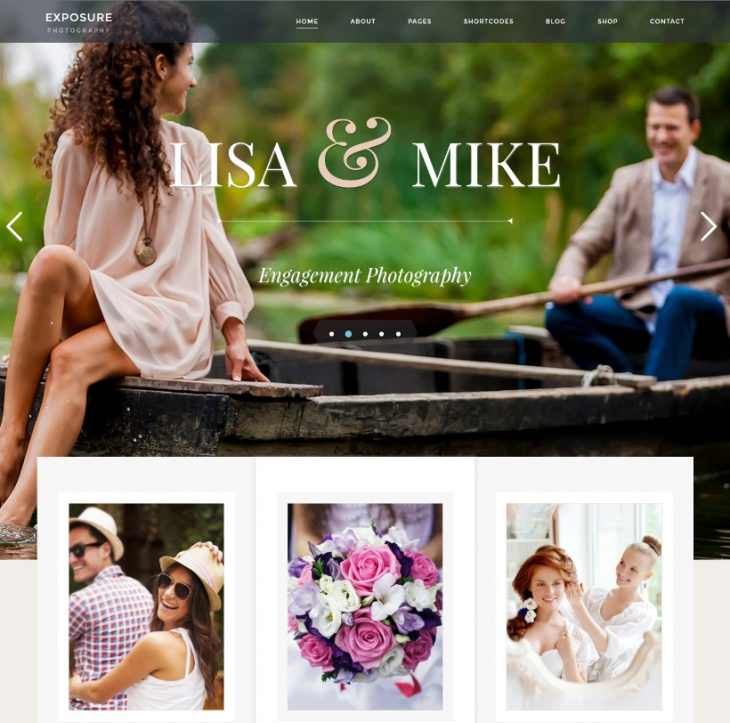 Exposure Photography Theme