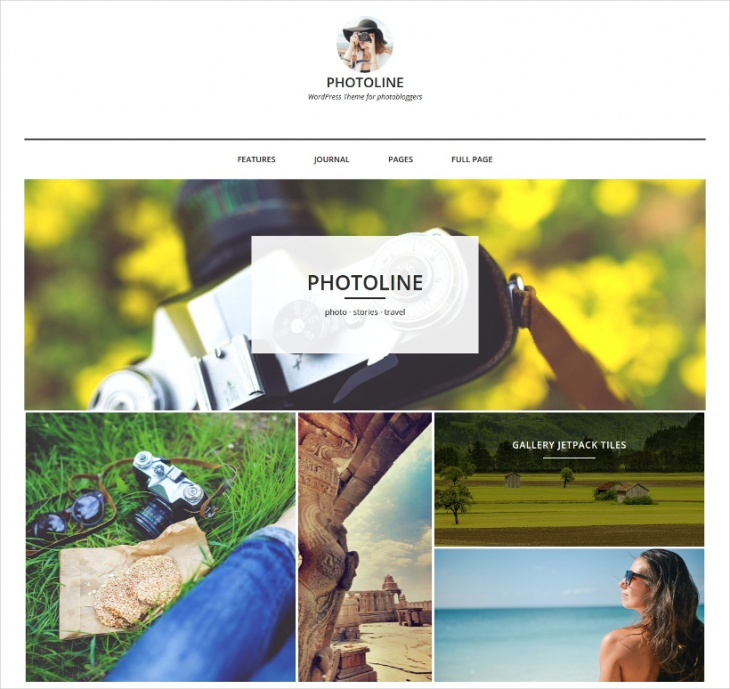 Minimal Photo Blog Theme