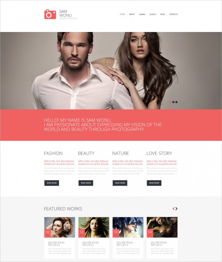 Passionate Photography Theme