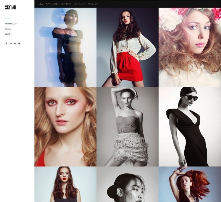 Portfolio & Photography Theme