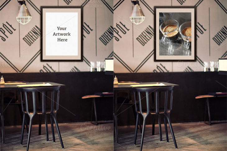 Restaurant mockups psd download design trends